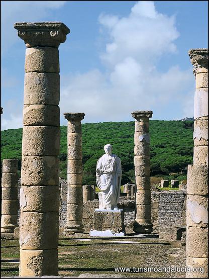 Basilica en Baelo Claudia