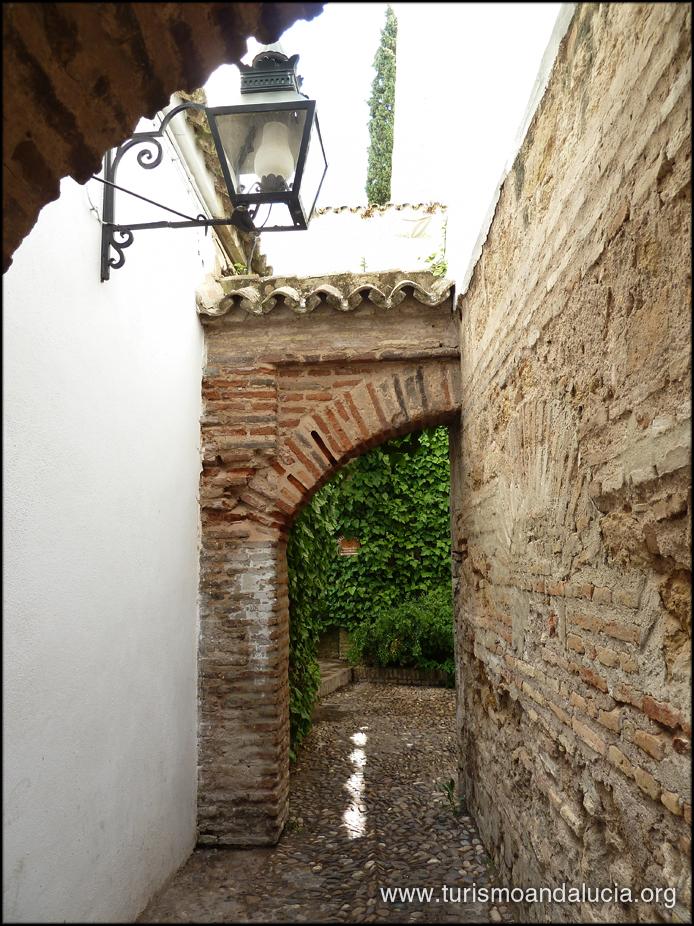 Callejuela en Córdoba