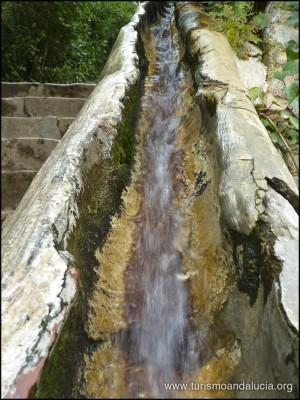 Escalera de Agua en el Generalife