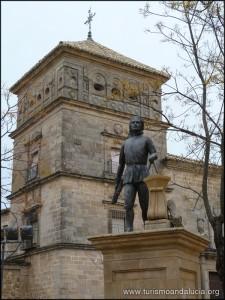 Estatua-de-Valdelvira-en-Ubeda