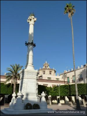 Monumento a los Coloraos en Almeria