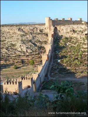 Muralla de la Alcazaba de Almeria