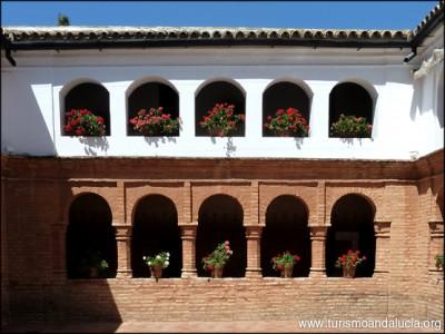 Patio de la Rábida en Huelva
