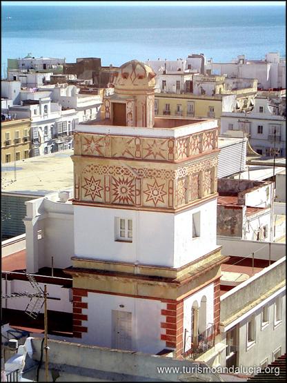 Torre Vigia desde Torre Tavira Cádiz