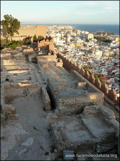 Vistas-desde-la-Alcazaba-de-Almeria