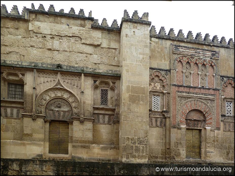 Puertas en la Mezquita de Córdoba